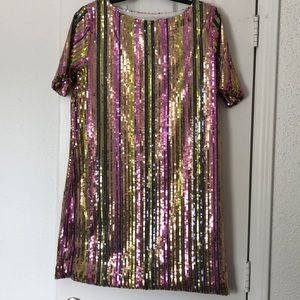 Dresses & Skirts - Sequin multicolored dress